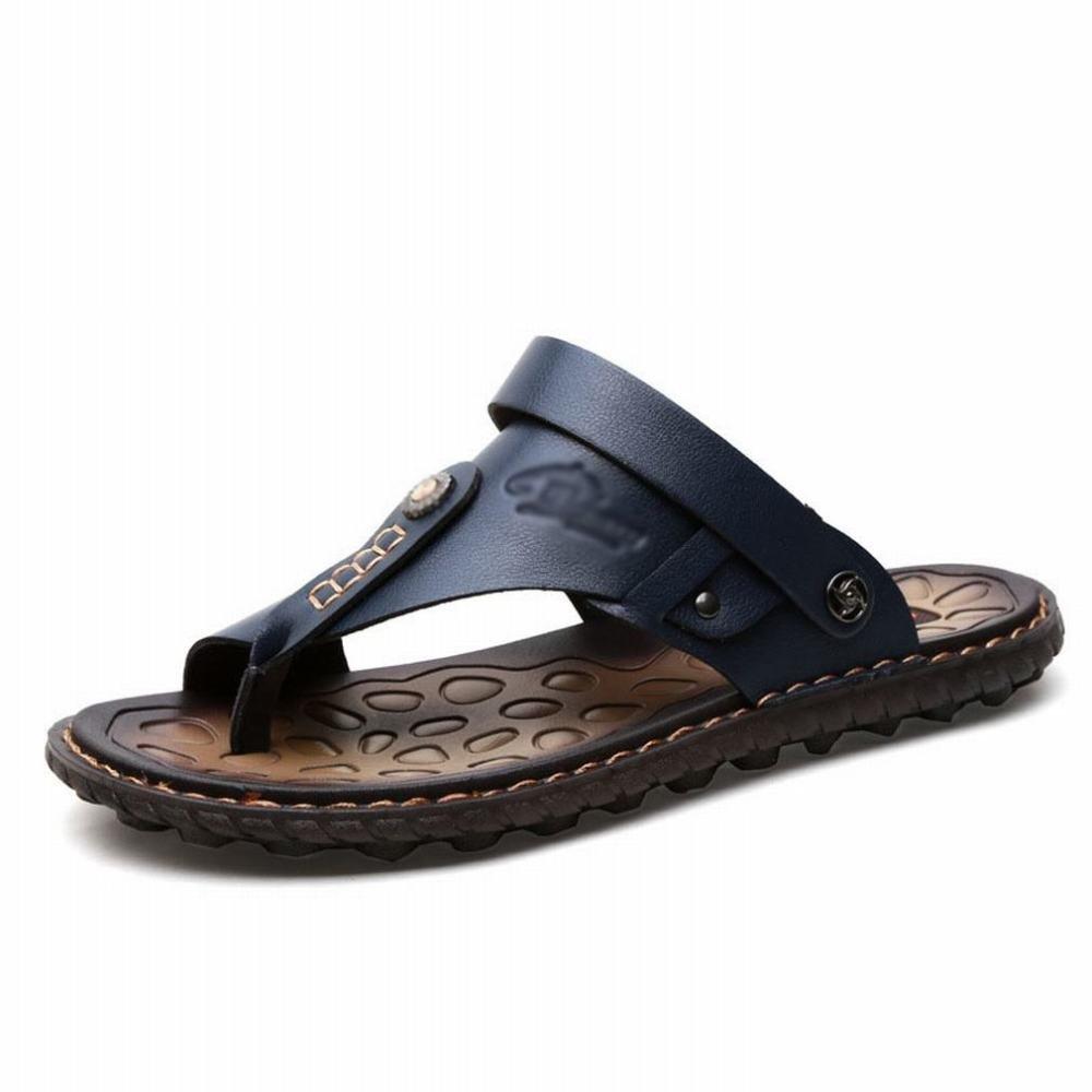 SLR Sommer-Männer Super-Fiber Sandalen Männer Casual Trend Jugend Pin-to-Face Flip-Flops Strandschuhe