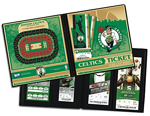 Boston Celtics Ticket Album by That's My Ticket