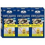 Member's Mark Commercial Disposable Latex-Free Vinyl Gloves (120 gloves, 3 pk.)