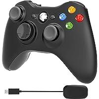 YCCSKY Wireless Xbox 360 Controller, 2.4GHz Enhanced Dual Vbt Xbox 360 Game Controller with Receiver Remote Gamepad…