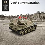 JJRC RC Tank 1/30 Remote Control Military Battle