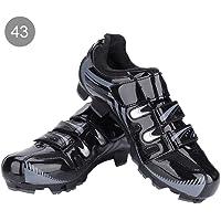 Alomejor Zapatillas de Ciclismo Antideslizantes para Hombre de 1 par de Zapatillas para Ciclismo de montaña MTB