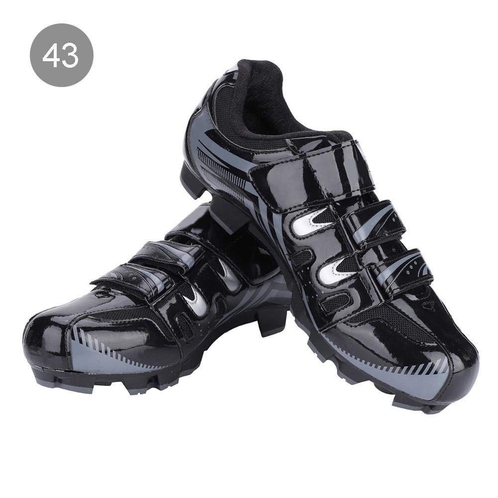 Alomejor Zapatillas de Ciclismo Antideslizantes para Hombre de 1 par de Zapatillas para Ciclismo de montaña MTB(42-Black): Amazon.es: Deportes y aire libre