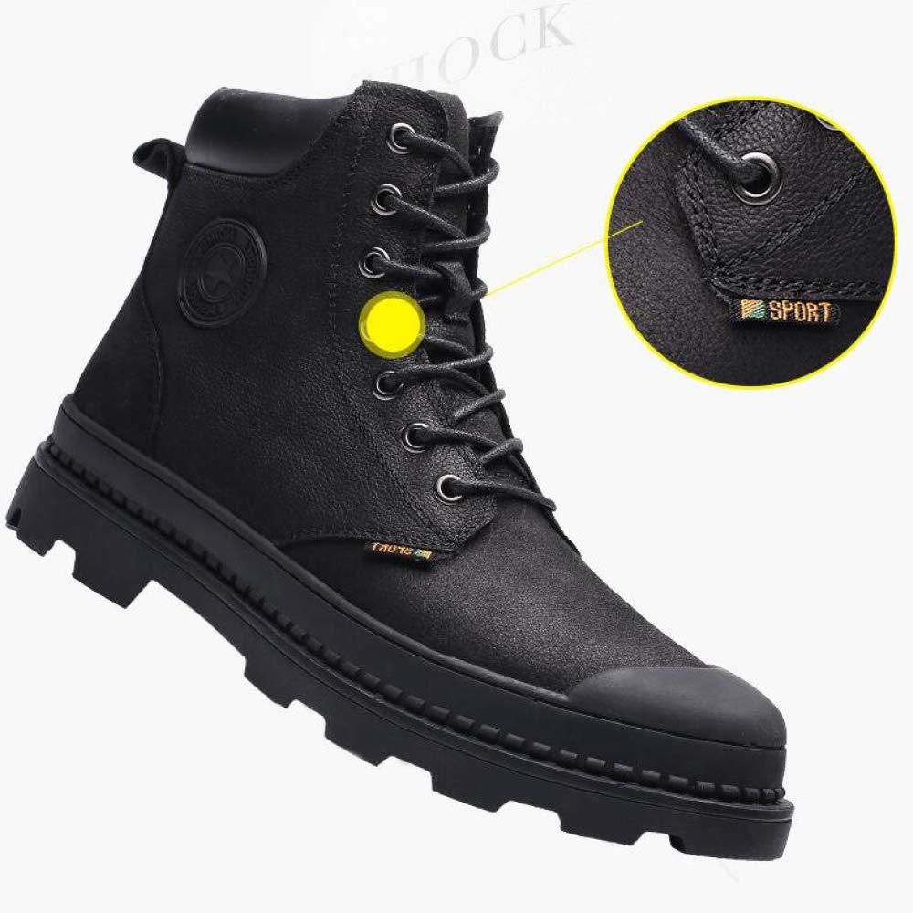 LIJUN Desert Leather Martin Stiefel Stiefel Stiefel Tide Retro Tooling Herrenschuhe Größe 38-43 605106