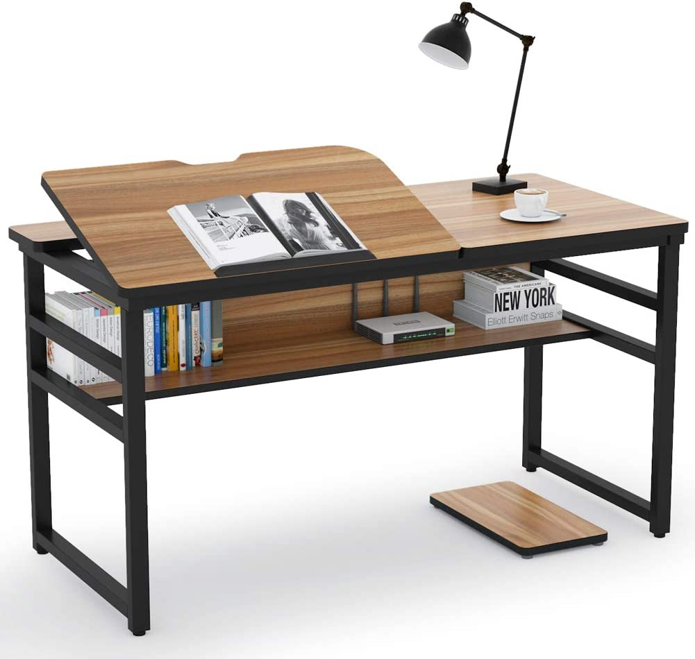 Tribesigns Modern Drafting Desk