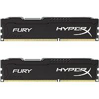 HyperX Fury - HX318C10FBK2 - Mémoire RAM 16 Go Kit (2x8 Go) - DDR3 - Noir