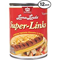 Loma Linda - Plant-Based - Super Links (19 Oz.) (Pack Of 12) - Kosher