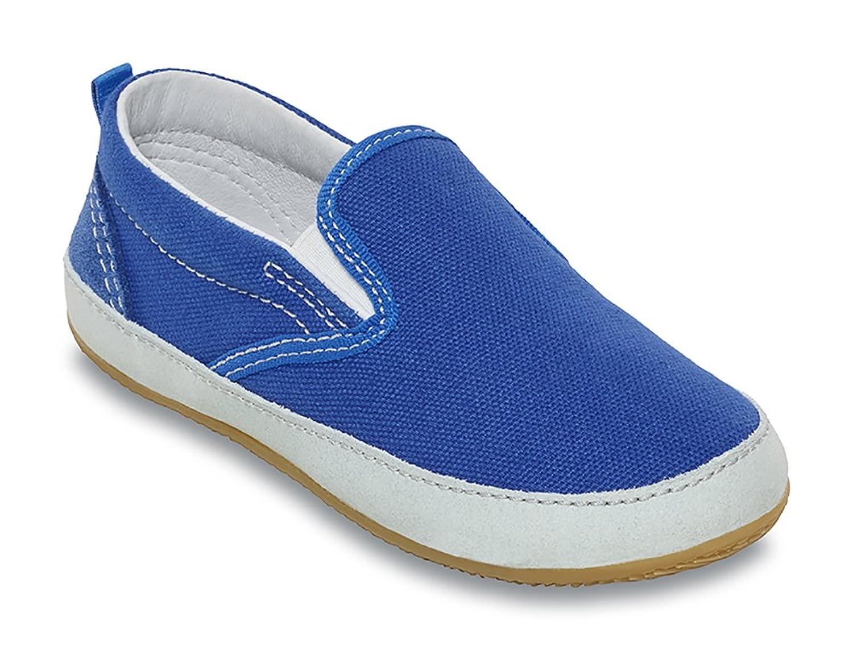 Kitzb?hel - Zapatillas de estar por casa de Lona para niño, color Azul, talla 28