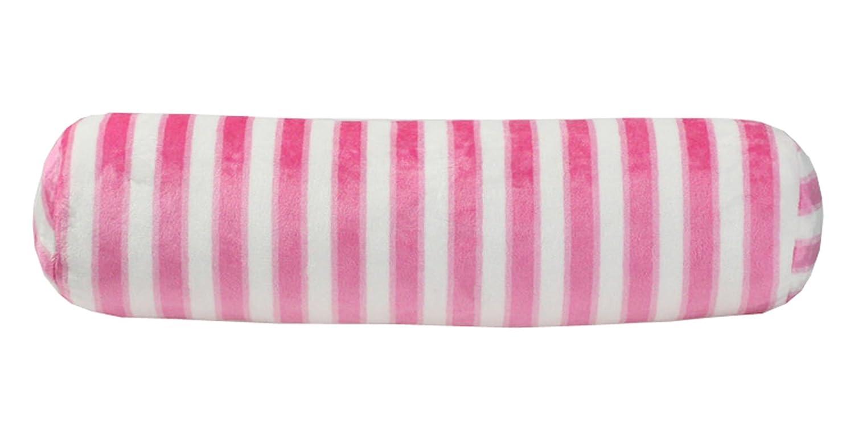 Amazon.com: peacewish cilíndrico rayas almohada larga Candy ...