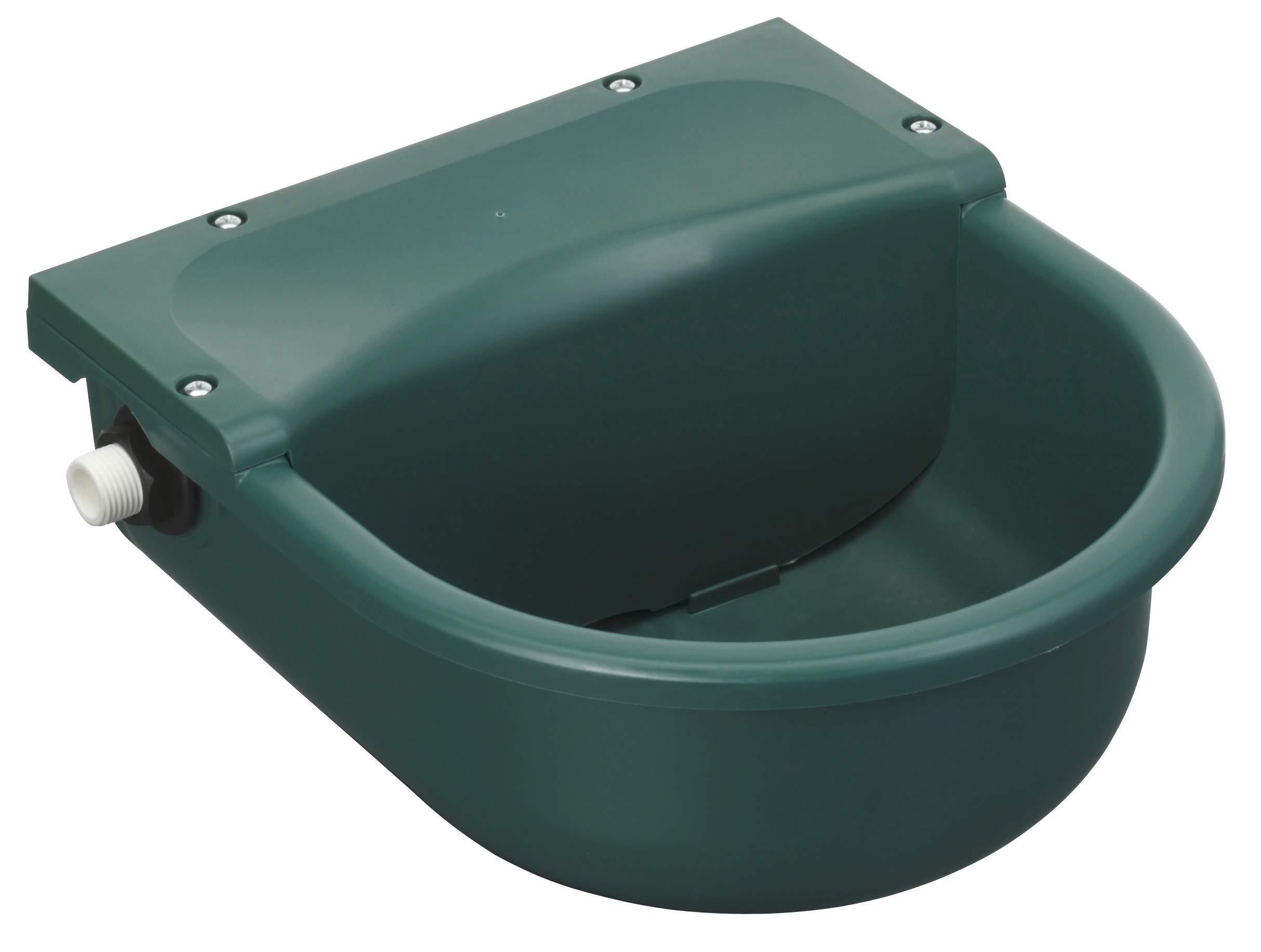 Bebedero con flotador verde de plástico, 3 l product image
