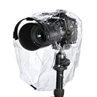 Neewer® Rain Cover Coat Dust Proof Camera Protector Rainwear Rainproof for Canon Nikon Sony Samsung and Other DSLR Camera/Such as Canon EOS 500D 550D 700D 70D, Nikon D7100 D5100 D5000 D3100 D90