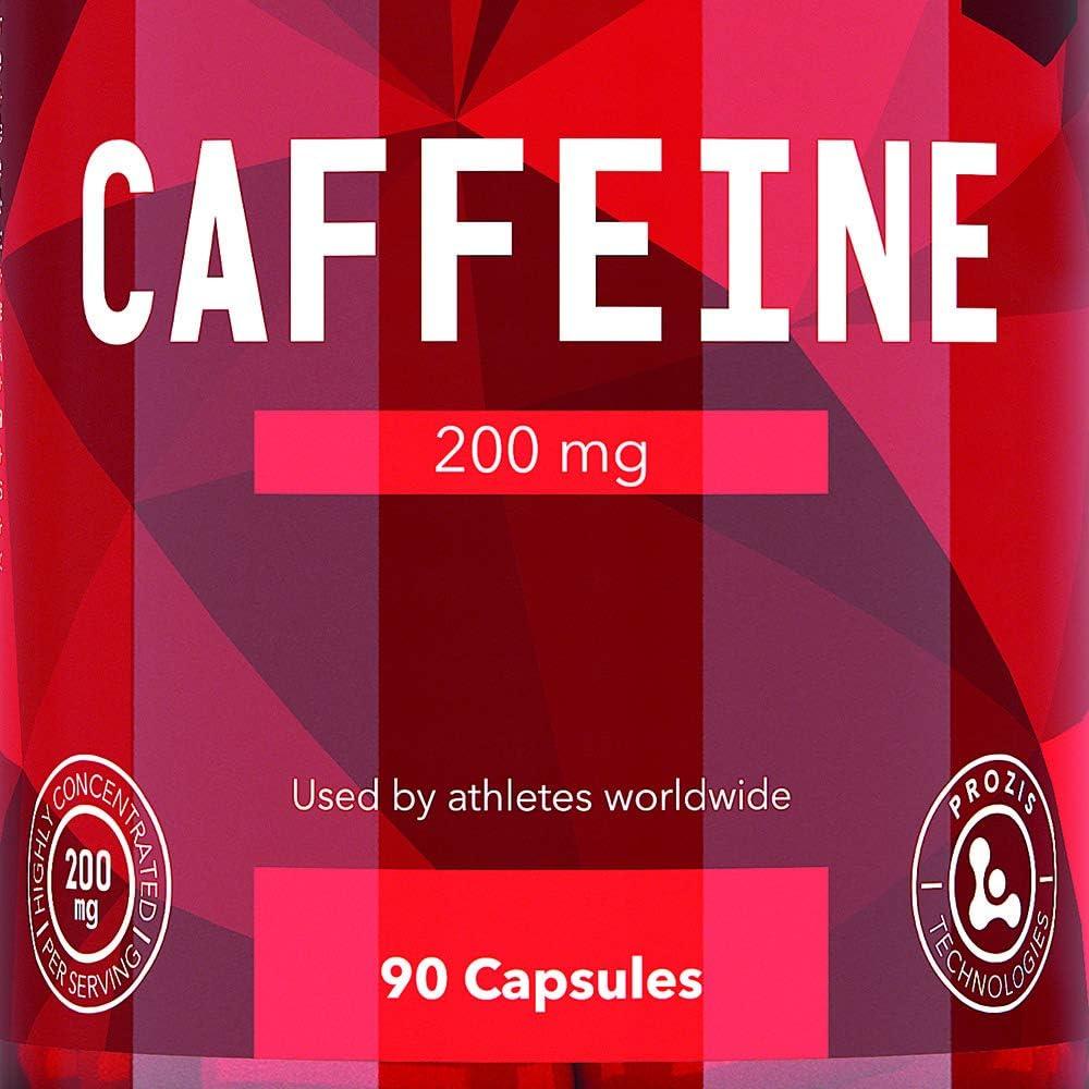 Prozis Cafeína Estimular la Concentración, los Niveles de ...