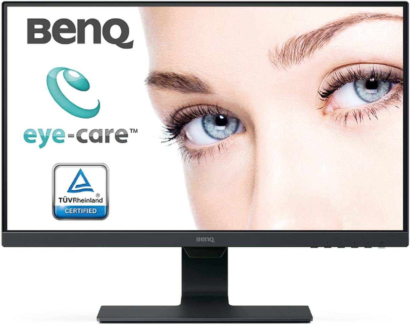 BenQ GW2480 Monitor LED Eye-Care da 24 Pollici, Full HD 1920 x 1080, Panello IPS & Corsair Vengeance LPX Memorie XMP 2.0 di alte prestazioni per Desktop a Elevate Prestazioni, 16 GB