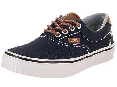 f9d7cd71b89 Vans Kids Era 59 (C L) Dress Blues Acid Denim Skate Shoe 10.5 Kids