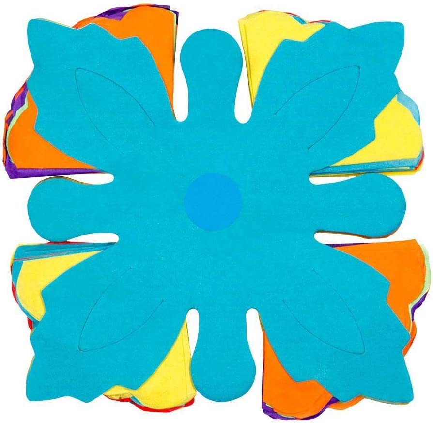 Papiergirlande Regenbogen Mottoparty Dekorationsgirlande Fun L/änge 400 cm H/ängedekoration 1 St/ück Gartenparty Karneval Wabengirlande Boland 30603 Geburtstag Bunt Mehrfarbig Girlande