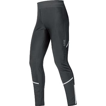 c3140dc17fd85 GORE RUNNING WEAR Men's Long Soft Shell Running Tights, Windproof, Stretch,  GORE WINDSTOPPER