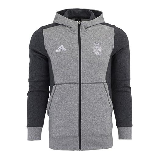 adidas Mens Real Madrid FC Training Hooded Sweatshirt at Amazon Men s  Clothing store  82b7a76b8
