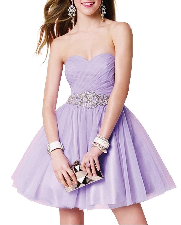 Charm Bridal Lilac A-line Prom Dress Ball Dress Cocktail Dresses Short 2016 new