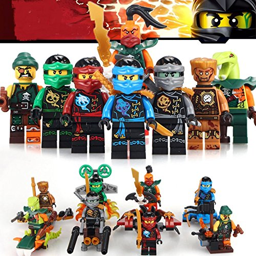 Gandalf Costume Diy (TONGROU 8pcs Phantom Kai Zane Cole Jay Lloyd GARMADON Nya Minifigures building toy)