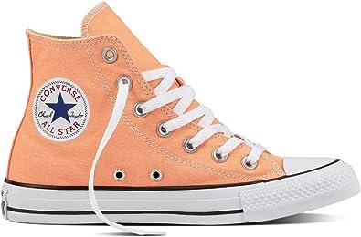 Converse Ctas Hi, Haute Sneakers Homme, Orange (Sunset Glow ...