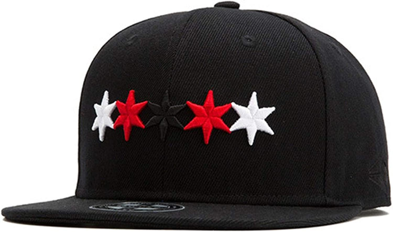 Fashion Five-Star Embroidery Men Women Hat Hats Baseball Cap Fashion Trends Hip Hop hat Summer Trucker Cap