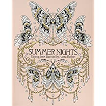 Summer Nights Coloring Book: (Daydream Coloring Series)