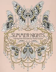 Summer Nights Coloring Book: (Daydream Coloring Series): Originally Published in Sweden as Sommarnatt