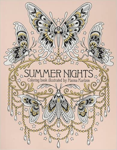 Livre Summer Nights de Hanna Karlzon