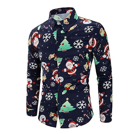 ♚ Blusa navideña para Hombre 83343ad14fa