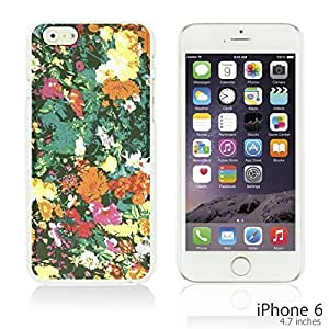 Flower Pattern Hardback Case Cover For Apple Iphone 5C Smartphone - Watercolor Floral Prints