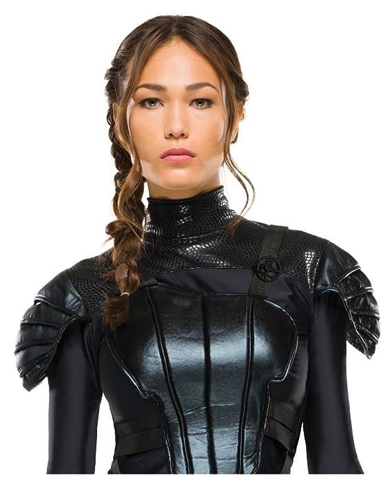 Horror-Shop Katniss Everdeen Cosplaykostüm XS: Amazon.es ...