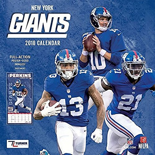 Giants Wall Calendar (New York Giants Wall Calendar)