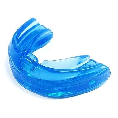 af4c14a249492 ShockDoctor protège dents pour appareils Braces Bleu - Adulte: Amazon.fr:  Sports et Loisirs