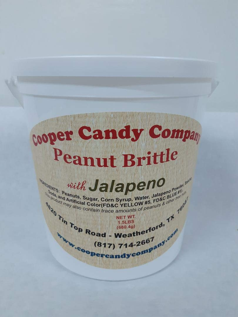 Cooper Candy Company Peanut Brittle w/Jalapeno by Cooper Candy Company