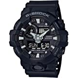 GSHOCK Men's Automatic Wrist Watch analog-digital Display and Resin Strap, GA700-1B