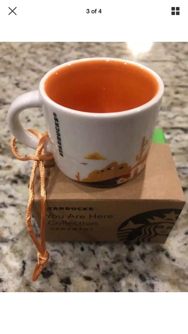 Starbucks You Are Here California 2 Oz Ornament
