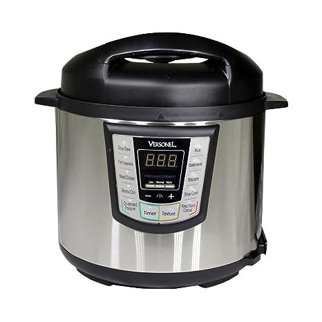 Amazon.com: versonel vslpc60 eléctrico olla de presión ...