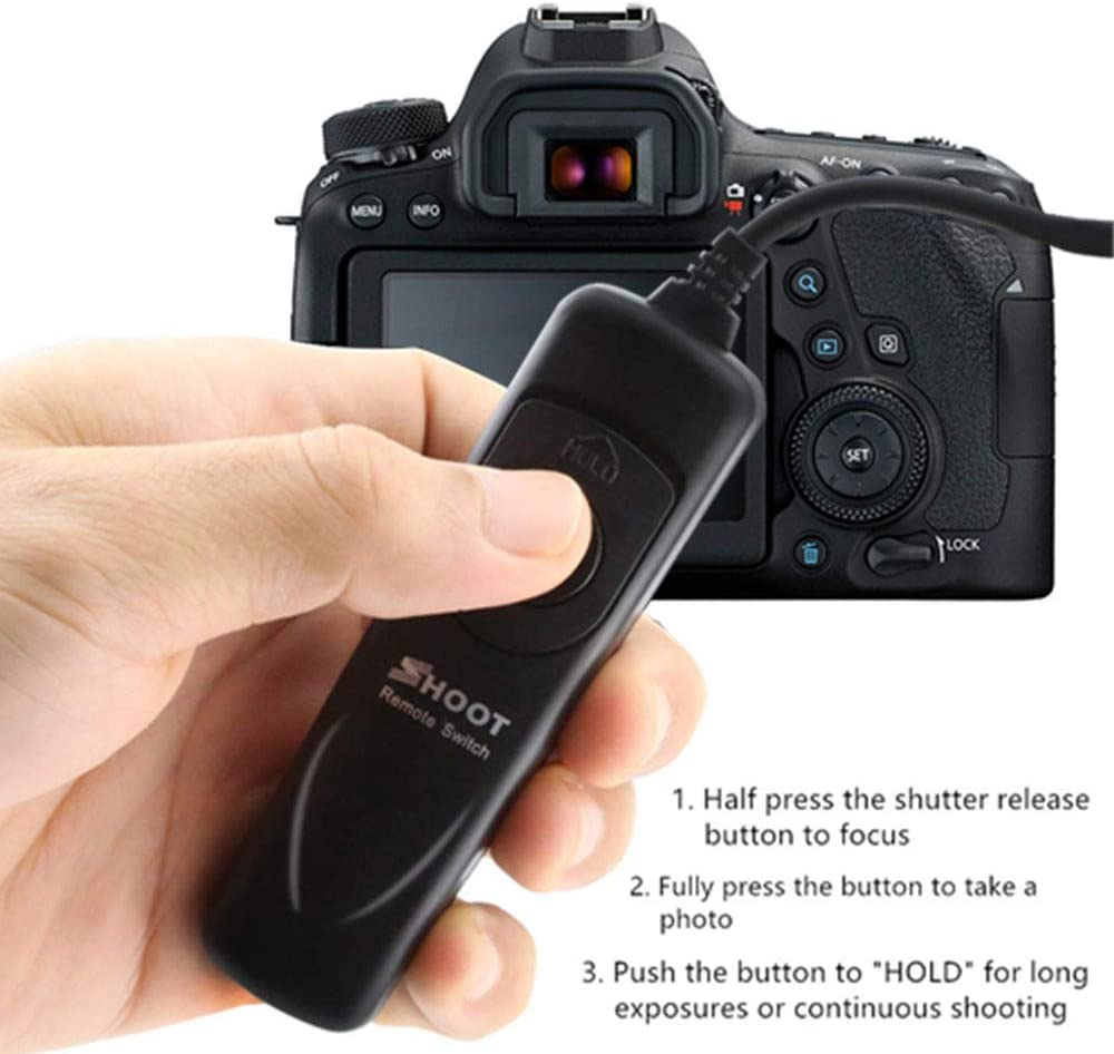 Shutter Release Cords Cololy Shoot Remote Shutter Release Cable ...
