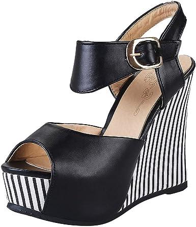 Women High Heels Platform Sandals Open