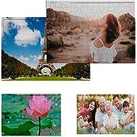 Puzzle Personalizado con tu Foto 192 Piezas Impresión dpi - Bonito Brilloso Tus Puzzles con tu Imagen Preferida - Regalo…