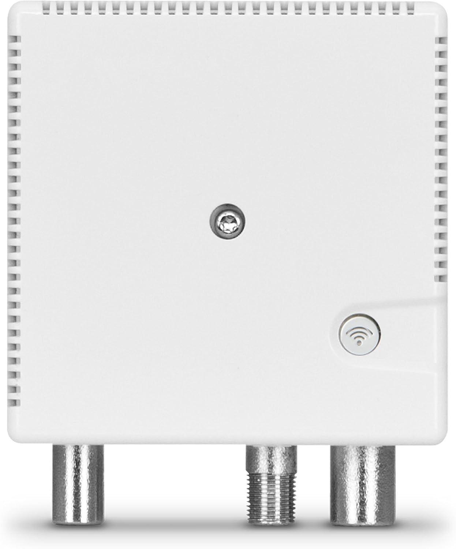 Technisat Technilan Wm 500 Wifi Lan Und Wlan Aufsteckmodem Heimnetzwerk Peer To Peer Betrieb Via Koaxialkabel Küche Haushalt