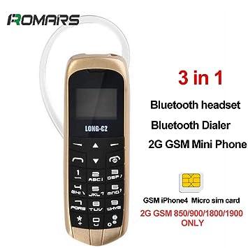 Amazon.com: Mini teléfono 3 en 1 de larga duración, con ...