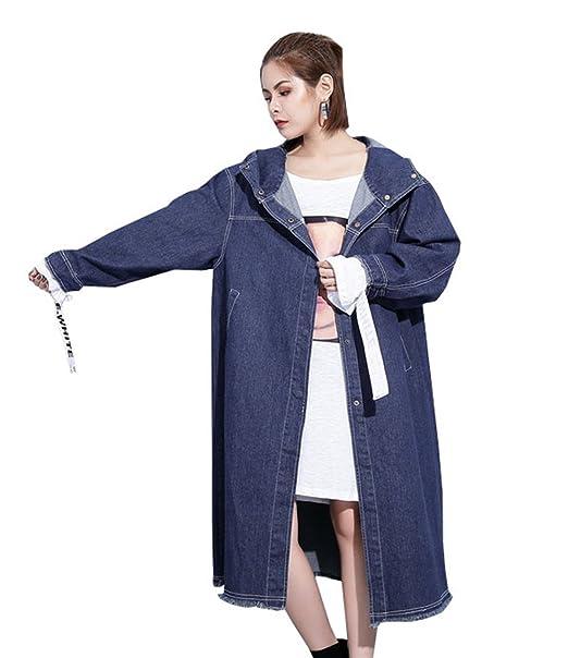 DaBag - Abrigo - universidad - para mujer azul Talla única : Amazon.es: Ropa y accesorios
