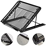 Mesh Metal Adjustable Portable Laptop Stand for Mac-Book Air Pro Laptop Notebook with Ventilated Tracing Cooling Holder