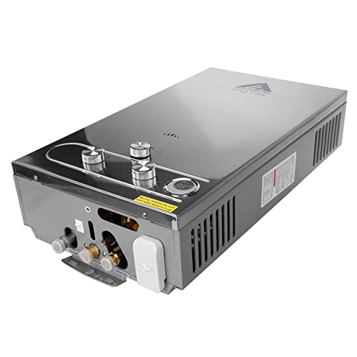 iglobalbuy 12L casa GLP calentador de gas caliente (caliente calentador de agua instantáneo caldera de acero inoxidable: Amazon.es: Bricolaje y herramientas