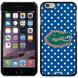 University Of Florida - Mini Polka Dots design on Black iphone 6 plusd 5.5 Microshell Snap-On Case