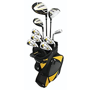 Wilson Sporting Goods Ultra Complete Package Golf Set, 14-Piece