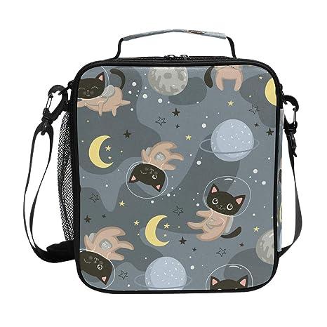 Bolsa de almuerzo con diseño de gato, ideal para comida ...