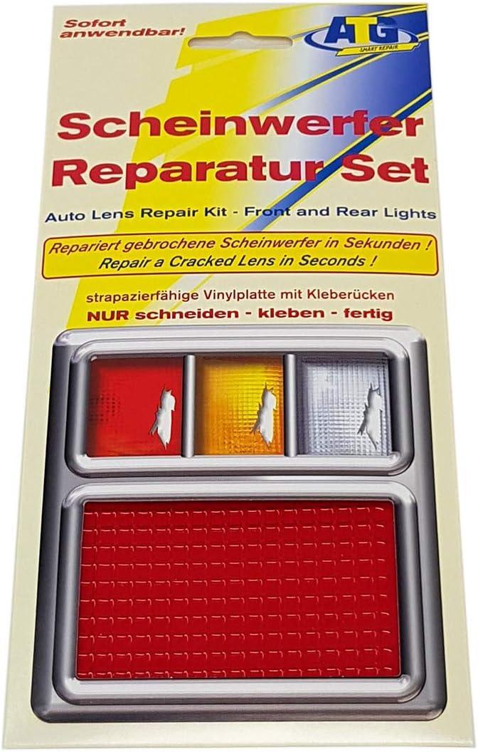 Atg Scheinwerfer Reparatur Set Rot Für Rückleuchten Nebelschlussleuchten Auto