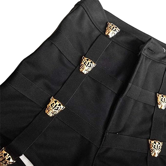Yuqianqian Mujer Pantalones Cortos Vaqueros Básicos Mujeres ...
